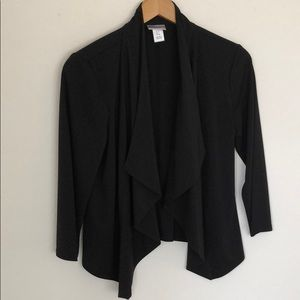 ⭐️Motherhood Maternity- Black drape Jacket